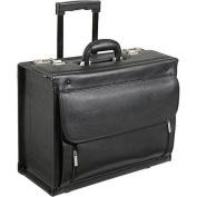 AmeriLeather Leather Wheeled Laptop Catalogue Case