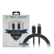 Tech Armour Hi-Speed USB 3.0 Micro-USB 3.0 Cable - 1.8m - USB A to Micro-USB 3.0 Cable - Sync and charge Smart Phone, External Hard Drive - Lifetime Warranty