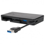 Targus Universal USB3.0 DUAL VIDEO TRAVEL DOCK - HDMI x1, VGA x1, Gigabit Lan Port x1, USB3.0 x2