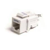 StarTech Cat5e Modular Keystone Jack, White