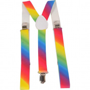 Dress up America Wide Rainbow Suspender