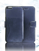 iPhone 6 Wallet Cases,iphone 6s case,Taken Leather Case [Sapphire Blue] - Card Slot-Flip-Wallet-Water proof-Perfect Fit- For Apple iPhone 6 4.7