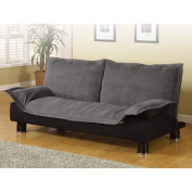 Coaster Casual Futon Sofa Bed, Grey