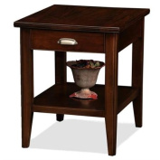 Leick Laurent Storage End Table with Drawer