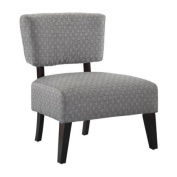 Delano Accent Chair - Grey Weave
