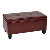 Avenue Six Ave Six® Detour Storage Bench in Eco Leather