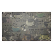 Chef Gear Roasted Coffee Anti-Fatigue Gelness Comfort Chef Mat