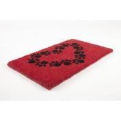 Entryways Heart and Soles Doormat