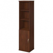 Bush BBF Series C Elite 18W Bookcase with Doors in Hansen Cherry