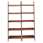 International Concepts Leaning 190cm Bookcase