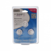 My Shiney Hiney Replacement Brush Heads (3pk) - Silky Soft