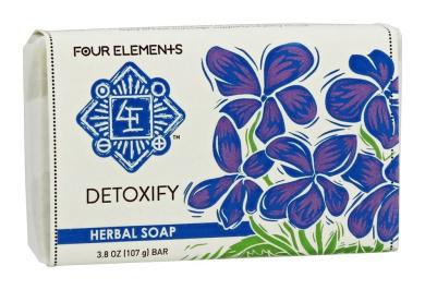 Four Elements Herbals - Herbal Soap Bar Detoxify - 110ml