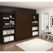 Bestar Queen Storage Murphy Bed