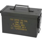 Classic Safari SPAMMOLG Classic Safari Large Metal Replica Ammo Box- Large