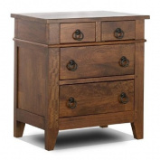 Klaussner Furniture Urban Craftsmen 4 Drawer Nightstand