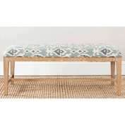 Safavieh Zambia Upholstered Bench, Multiple Colours