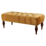 Jennifer Taylor Home, Lyon Entryway Accent Bench, Buckthorn Brown