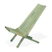 Chair X45, Alligator Green, Natural