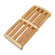 AStorePlus® Foot Massage Wooden Acupressure Roller Stress Relief