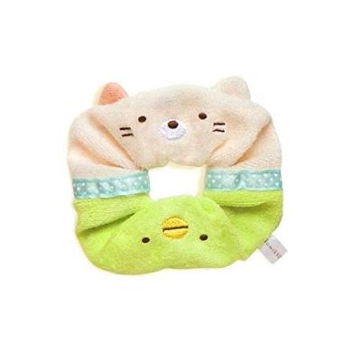 San-X Corner Sumiko Gurashi Chou Hair Band Hair Tie Cat and penguins. (AY04801)