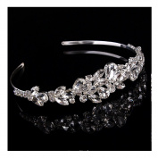Ulike2 Luxury Tiara Jewellery Crystal Crown Charleston Bridal Headband- For Hair Clip Beauty Tools