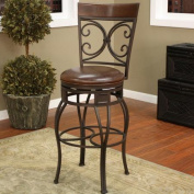 American Heritage Treviso 80cm Bar Stool with Cushion
