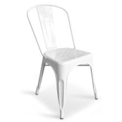 Side Chair in White - Set of 2