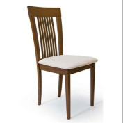 Chair in Light Walnut Finish - Set of 2