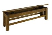 Laurelhurst Rustic Oak Finish Bench