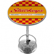 Stuckeys Chequered Chrome Pub Table