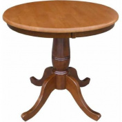 80cm Round Top Pedestal Table, 80cm H