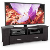 Sonax Bromley Ravenwood Black TV Bench for TVs up to 180cm