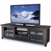Sonax Arbutus Dark Espresso Stained Wood TV Bench for TVs up to 180cm