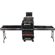 Deluxe Dual Table Glide Style Combo Rack