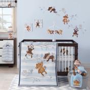 Bedtime Originals Mod Monkey 3 Piece Bedding Set