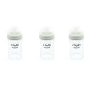 Playtex Drop-Ins Nurser Baby Bottles 120ml Slow Flow Nipples, Bottle Only
