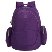 LCY Large Capacity Back Pack Nappy Bag Purple