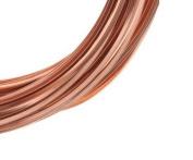 Modern Findings(TM) 20 Ga Square 7.6m Wire (Half Hard) Coil