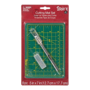 Cutting Mat Set 13cm By 18cm , Knife Included