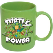 TMNT Turtle Power Embossed 590ml Ceramic Mug