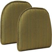 Gripper Non-Slip 38cm x 41cm Harmony Chair Pad, Set of 2