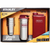 Stanley Adventure Steel Shots and Flask Gift Set, Crimson