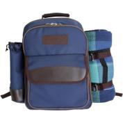 Picnic Pack SGI-PB01 Picnic Backpack for 4, Navy Blue