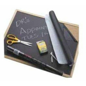 Con-Tact Self-Adhesive Chalkboard Contact Paper, 46cm x 1.8m, Black