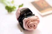 Korean Beauty Ribbon Rose Flower Bow Jaw Clip Hair Claws for Women Headwear Hair Accessories
