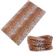 Zupoo(TM) Leopard Print Series 16-in-1 Multifunctional Headband Magic Scarf,Magic Bandanas,Collars Muffler Scarf Face Mask