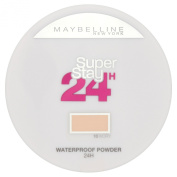 Maybelline Super Stay 24h Waterproof Powder for Flawless Coverage - 010 Ivory 9g