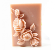 Longzang Love Rose Mould S377 Craft Art Silicone Soap Mould Craft Moulds DIY Handmade Candle Moulds