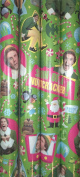 Elf the Movie Will Ferrell Christmas Gift Wrap 3.7sqm