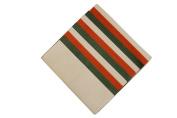 Premium Coloured Tissue, Red, White, Green, 100 Sheets